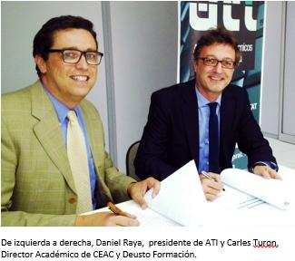 ATI CEAC firman acuerdo colaboración