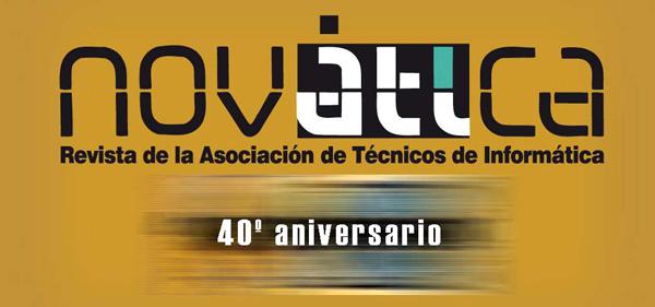 40 aniversario de Novática