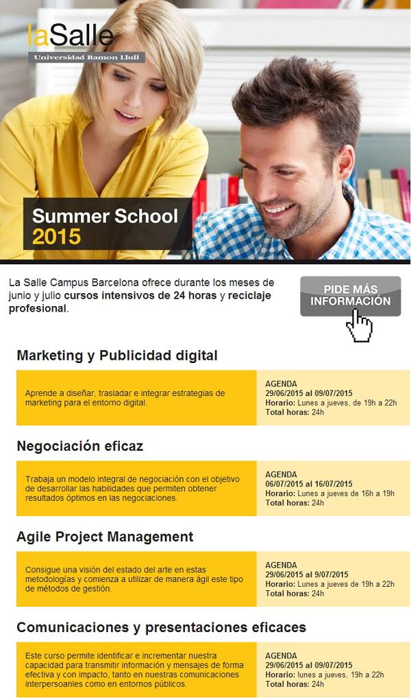 La Salle summer school